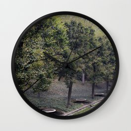 Longwood Gardens Autumn Series 20 Wall Clock