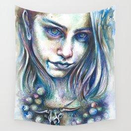 Blueberry Binge Wall Tapestry