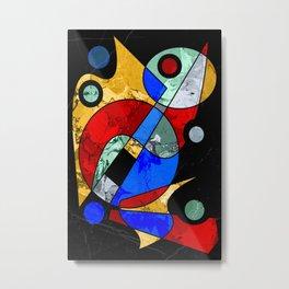 Abstract #103 Metal Print