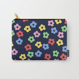 Ditsy Bib Flower Pattern Carry-All Pouch