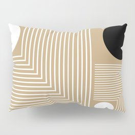 Lines & Circles Pillow Sham