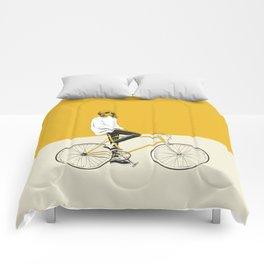 The Yellow Bike Comforters