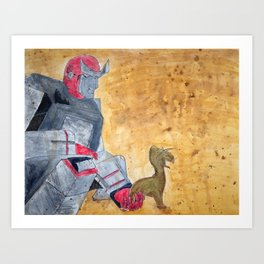Ratchet and Ronto Art Print