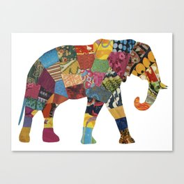 The Elephant. Canvas Print