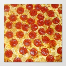 I HEART PIZZA Canvas Print
