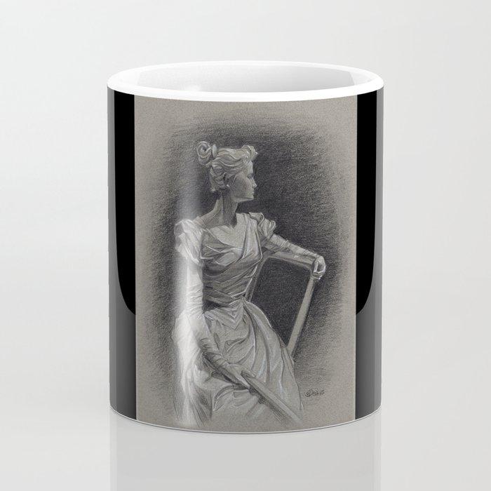 Sitting Lady, Dame Assise, Paul du Bois, Bruxelles Coffee Mug