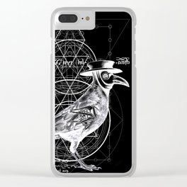 The Raven dark Clear iPhone Case