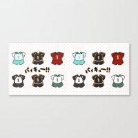 haikyuu Canvas Prints featuring Haikyuu!! Mug by timeflashh