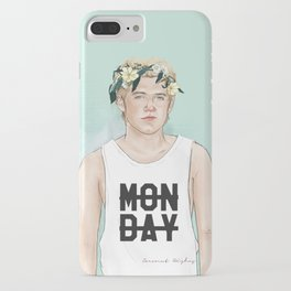 Flower crown Niall iPhone Case