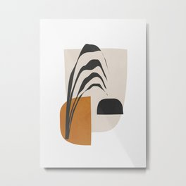 Abstract Shapes 3 Metal Print