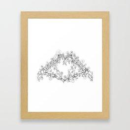 Our Love is Forever Framed Art Print