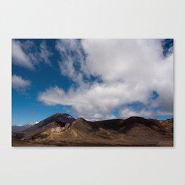 Volcanoes Canvas Print