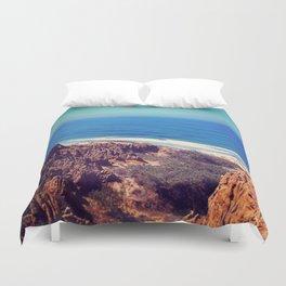 California Cliffs Duvet Cover