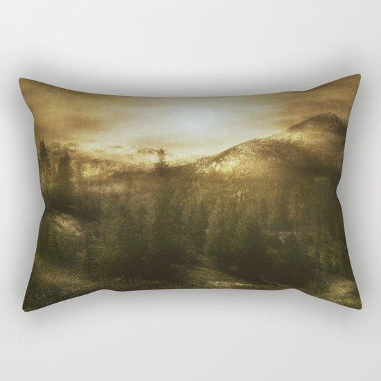 Chasing Light Rectangular Pillow