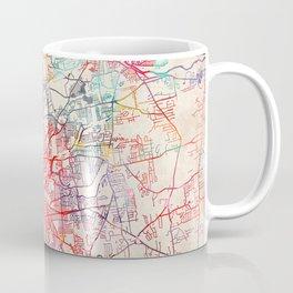 Springfield map Massachusetts painting Coffee Mug