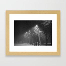 Hushed Framed Art Print