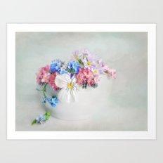 simply spring N°4 Art Print