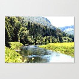 Donautal Germany Canvas Print