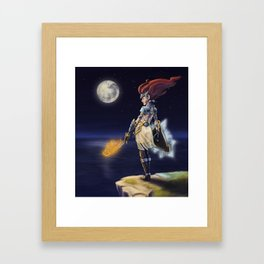 Night Warrior Framed Art Print