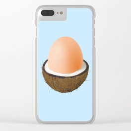 Coco-egg Clear iPhone Case