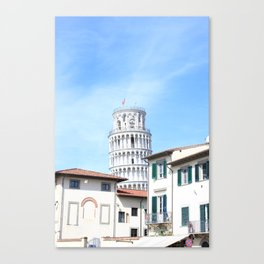 Sneak into the picture Canvas Print