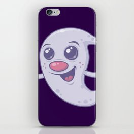 Cute Retro Ghost iPhone Skin