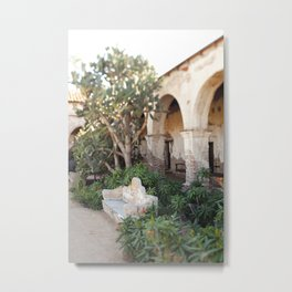 Moment at the Mission Metal Print