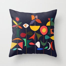 Klee's Garden Throw Pillow