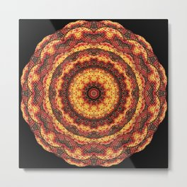 Kaleidoscope pleasant evening Metal Print