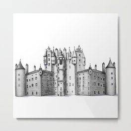 huge castle Metal Print