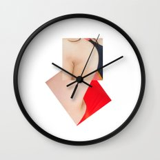 You to Me Wall Clock