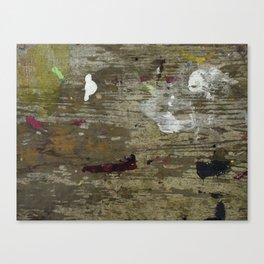 Unpolished Canvas Print