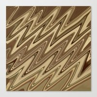 golden Canvas Prints featuring Golden by DesignsByMarly
