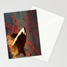 Whale Outbreak Stationery Cards