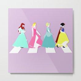 Princesses Road Metal Print
