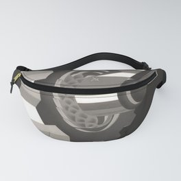 ancienne Plovdiv voyage poster Fanny Pack