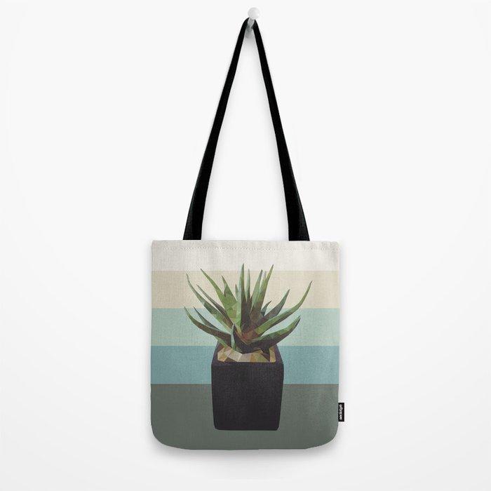 polygon plant Tote Bag