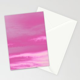 Pink Summer Vibes #1 #decor #art #society6 Stationery Cards