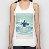 mad men Tank Tops featuring Mad Men by lazy albino
