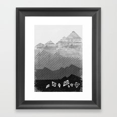 Mineral Framed Art Print