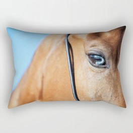 eye of horse. horse collection Rectangular Pillow