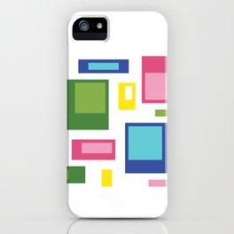 Greenery Retro Pattern iPhone Case