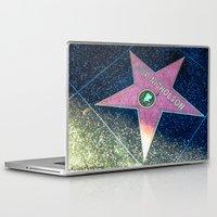 "jack nicholson Laptop & iPad Skins featuring ""Jack Nicholson"" (2013) by Maddie Gehle"