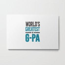 Gift for G-Pa Metal Print