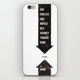 Endless Journey Home iPhone Skin