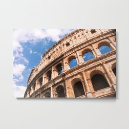 The Colosseum in Rome Italy Metal Print