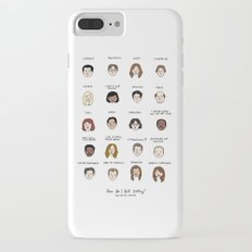 The Office Mood Chart iPhone 7 Plus Slim Case
