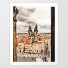 PRAGUE 3 Art Print