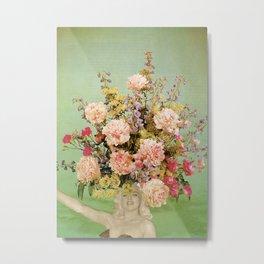 Floral Fashions II Metal Print