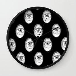 Peepshow 2 - Stipple Eye Wall Clock